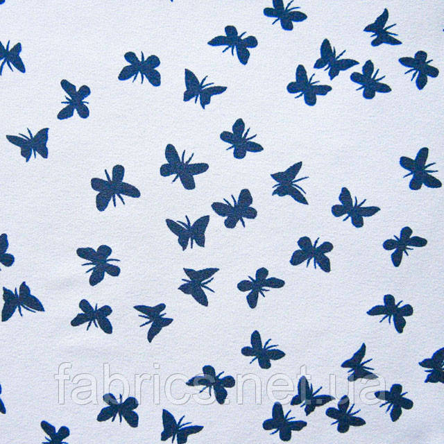 Ткань блузочная принтованная «Маркет» (P5672 дизайн 33)