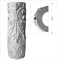 Фигурная колонна, тело колонн из гипса. (гіпсова колона)