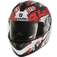 """Шлем SHARK RIDILL KENGAL Mat black\red\white """"L"""", арт. HE0513EKWR (шт.)"""