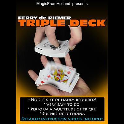 Triple Deck (Red) by Ferry De Riemer