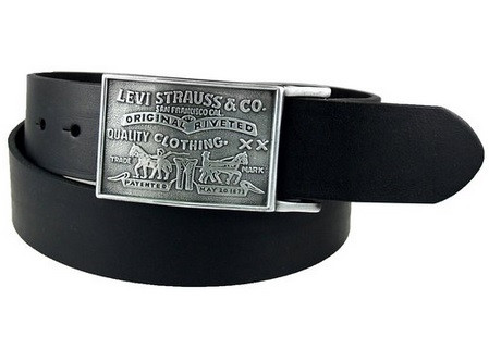 Ремень Levi's Plaque Bridle Belt With Snap Closure