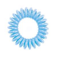 Резинки для волос 3шт голубая