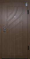 Двери входные МДФ/МДФ Метр Дор Регион MD 034, 860*2050, L, (лесной орех) 1замок