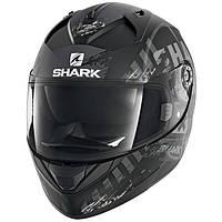 """Шлем SHARK RIDILL SKYD Mat black\grey\white """"L"""", арт. HE0516EKAS (шт.)"""