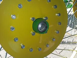 Грабли ворошилка Cолнышко на 5 колес , фото 2