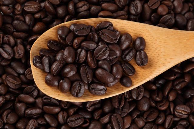 Кофе в зернах.