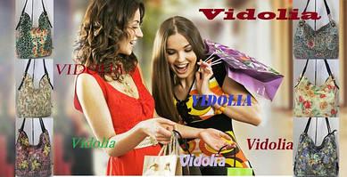 """Прекрасные сумки для солнечного лета! В разделе """"Новинки"""" пополнение женских сумок из натуральной кожи бренда Vidolia. Любительницам цветочной темы есть из чего выбрать главный аксессуар сезона."""