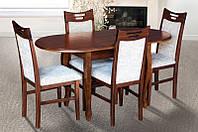 Стол обеденный раскладной МИКС-мебель Фараон Орех темный
