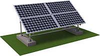 Система креплений для солнечных панелей с регулируемым углом наклона