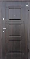Двери входные МДФ/МДФ Метр Дор Регион MD 035,960*2050, R, (лесной орех) 1замок