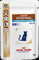 Royal Canin Gastro Intestinal Moderate Calorie 100 гр*12шт паучи диета при нарушении пищеварения у кошек