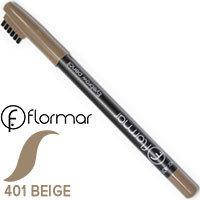 Карандаш для бровей Flormar Eyebrow Pencil Тон 401 Беж