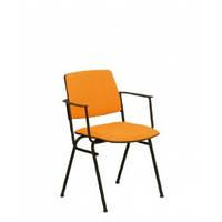 Офисный стул для посетителей Изит ISIT arm black С NS