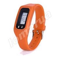 Фитнес браслет часы шагомер счетчик калорий Orange