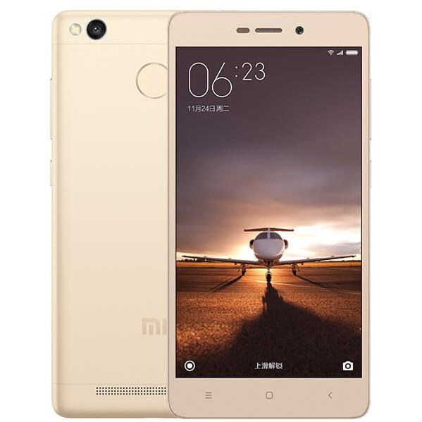 Смартфон Xiaomi Redmi 3S 3/32GB (Gold)