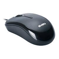 Мышь SVEN RX-165 (black) OPTiC, USB, 1 Wheel, 800cpi
