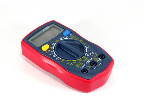 Цифровой мультиметр тестер вольтметр DT33C, фото 2