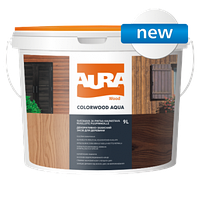 Aura ColorWood Aqua 2,5л - Декоративно-защитное средство для древесины