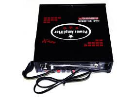 Усилитель звука UKC SN-308AC USB+SD+MP3 караоке, фото 3