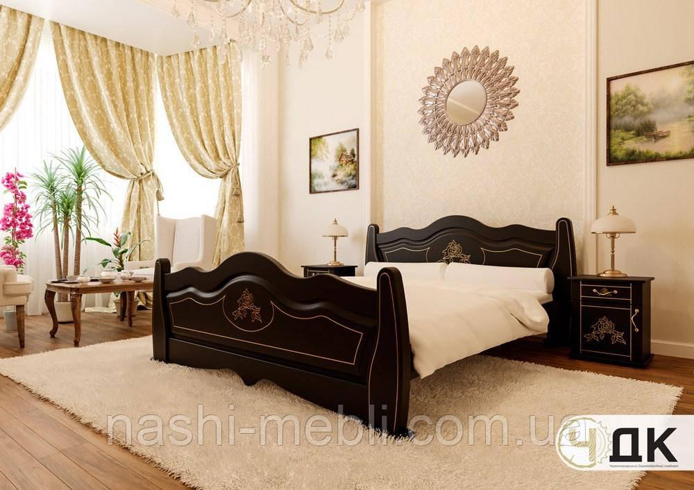 Двоспальне ліжко Мальва