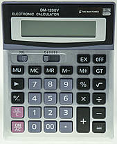 Бухгалтерский настольный калькулятор DM-1200V, фото 3
