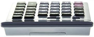 Бухгалтерский настольный калькулятор DM-1200V, фото 2