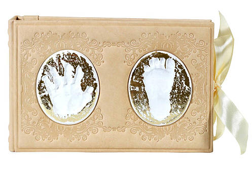 Детский фотоальбом в кожаном переплете 522-08-04