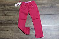 Котоновые брюки для девочек 2 года