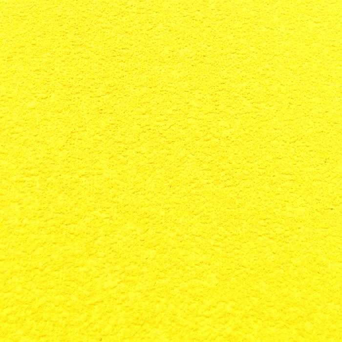 Фоамиран махровый 2 мм, 20x30 см, Китай, ЖЕЛТЫЙ