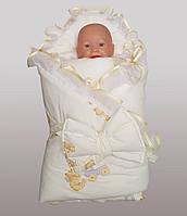 Конверт одеяло для новорожденных
