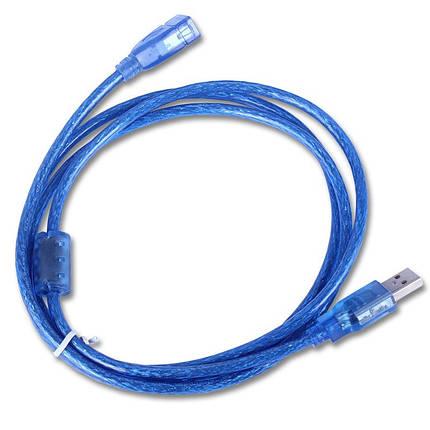 Кабель шнур удлинитель USB 2.0 A/F 1.5м, фото 2