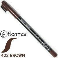 Карандаш для бровей Flormar Eyebrow Pencil Тон 402 коричневый