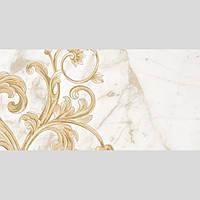Декор №2 керамический  для стен  Saint Laurent (30*60) белый