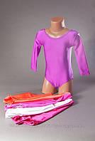 Купальник для гимнастики и танцев без юбки на возраст 12-15 лет