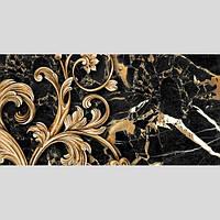 Декор №2 керамический  для стен  Saint Laurent (30*60) черный