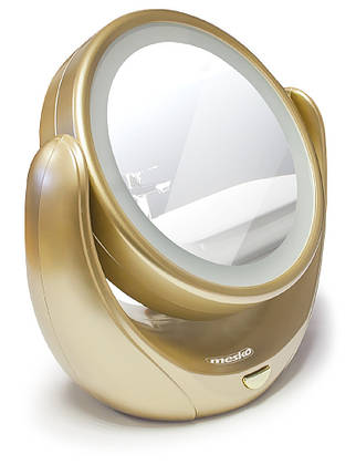 Зеркало косметическое Mesko MS 2164 LED 5x zoom, фото 2