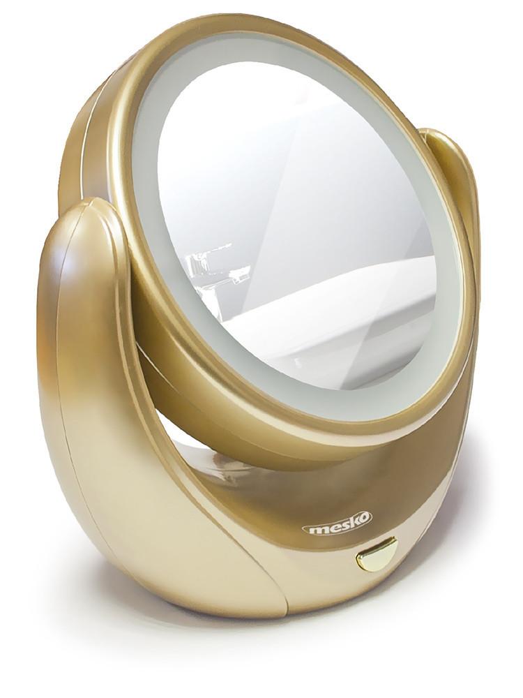 Зеркало косметическое Mesko MS 2164 LED 5x zoom