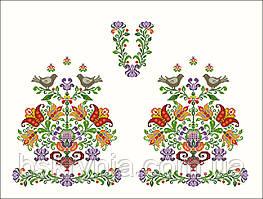 Заготовки жіночих сорочок з нанесенним на тканину малюнком під ... 9d320b5757849