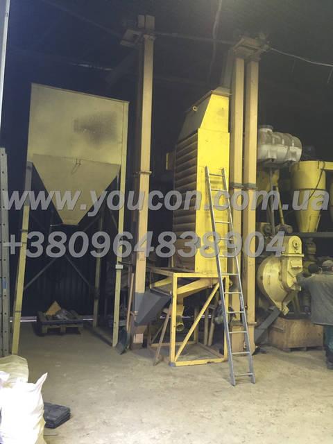 Линия гранулирования древесного сырья от 800 кг\час (опилка и щепа) 7