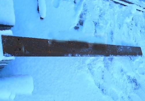 Нож ковша(режущая кромка) NEW HOLLAND  ЭКСКАВАТОР-ПОГРУЗЧИК   2250X200X20  85801034
