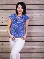 Женская футболка со шнуровкой p.42-48 VM1953-1