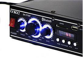 Усилитель UKC AV-777BT Bluetooth, фото 2