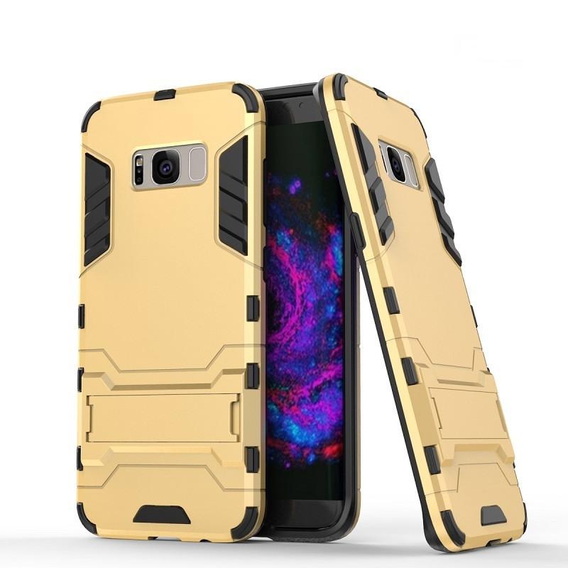 Чехол Samsung S8 Plus / G955 Hybrid Armored Case золотой