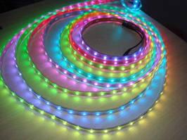 Піксельна стрічка AUR-30 LED-RGB-12V Premium