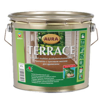 Aura Terrace 9л - Масло для террас