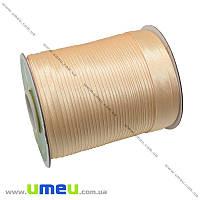 Атласная косая бейка, 15 мм, Бежевая, 1 м (LEN-010307)