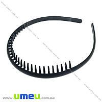 Обруч каучуковый с зубьями, 8,5 мм, Черный, 1 шт (OSN-020800)