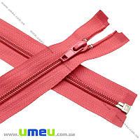 Молния спиральная разъемная 50 см, Тип 5, Красная, 1 шт (ZIP-013834)