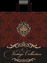 "Пакет петля ""Винтаж коллекция""  (38х43+3)80 мкм 25шт/упаковка"