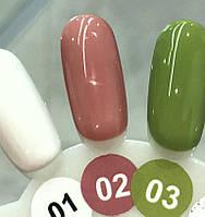 Гель-лак Nice for you Professional 8,5 ml №002 - бежево-розовый